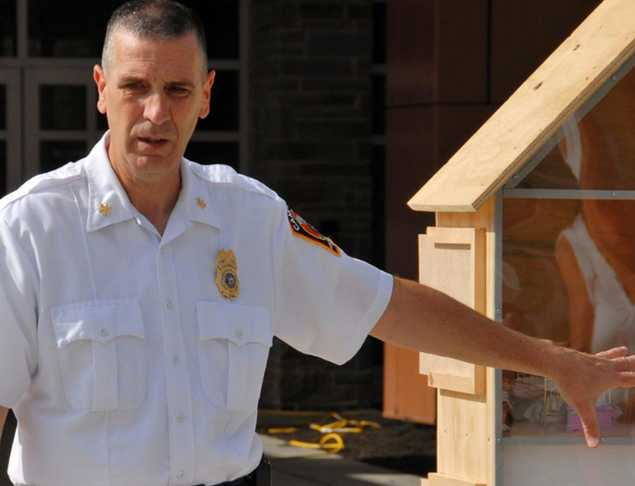New York Assistant Fire Chief Uses Dollhouse to Share Close Before You Doze Message