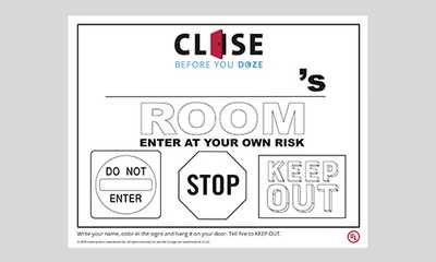 Close Your Door to Save Your Life